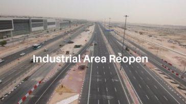 Industrial area reopen