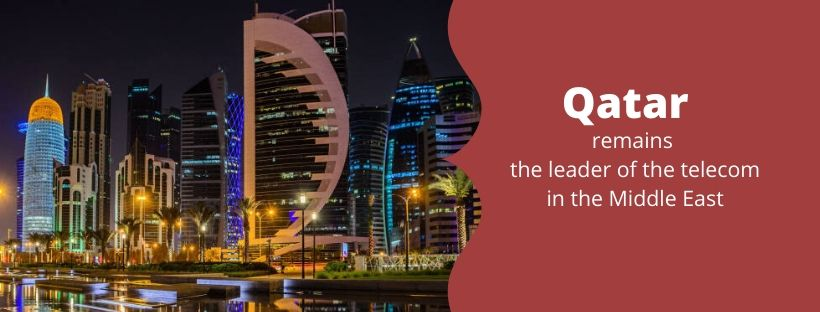 Qatar remains the leader of the telecom in the Middle East